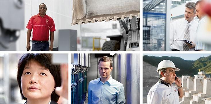 Über Bosch Rexroth - Marktsegmente