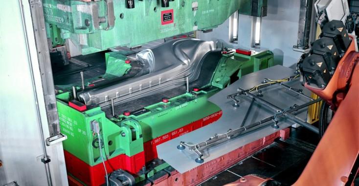Umformende Werkzeugmaschinen und Pressen